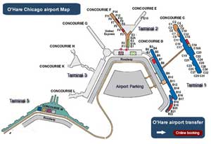 Ohare-limo-services-map